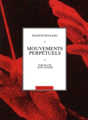 Mouvements perpétuels -Flûte guitare POULENC Partition laflutedepan