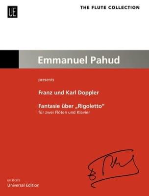 Fantaisie sur Rigoletto Franz et Karl Doppler Partition laflutedepan