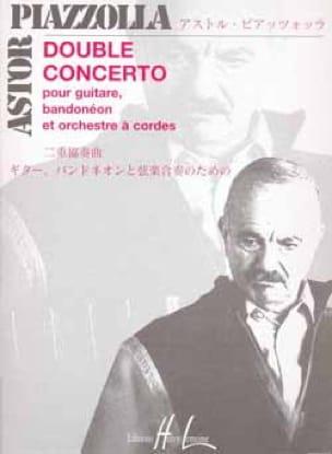 Double Concerto guitare-bandonéons cordes - Conducteur - laflutedepan.com