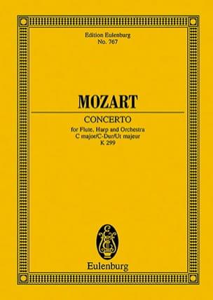 Konzert für Flöte, Harfe C-Dur KV 299 - Partitur MOZART laflutedepan