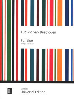 Für Elise Albumblatt - Flöte Klavier BEETHOVEN Partition laflutedepan