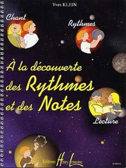 A la Découverte des Rythmes et des Notes Yves Klein laflutedepan