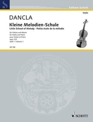 DANCLA - Kleine Melodien-Schule op. 123, Heft 1 - Partition - di-arezzo.co.uk