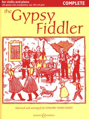 The Gypsy Fiddler Jones Edward Huws Partition Violon - laflutedepan