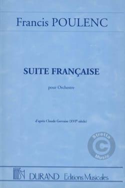 Suite Française pour orchestre - Conducteur POULENC laflutedepan