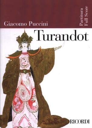 Turandot nouvelle édition - Score PUCCINI Partition laflutedepan