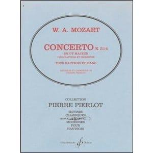 Concerto pour Hautbois en Ut majeur - KV 314 - laflutedepan.com