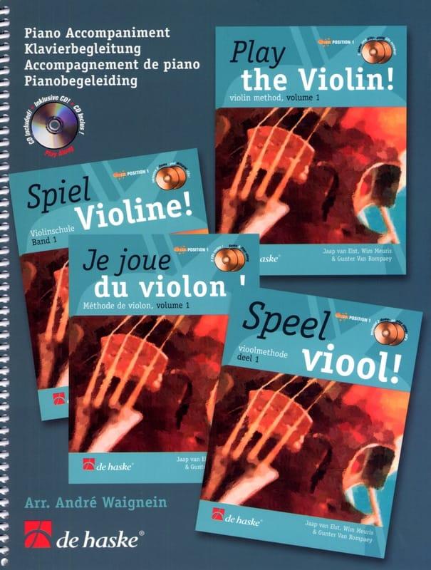 Je Joue du Violon - Accompagnement Piano - laflutedepan.com