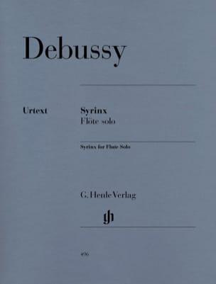 Syrinx - Flute Solo DEBUSSY Partition Flûte traversière - laflutedepan