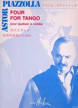Four for Tango - Quatuor à cordes Astor Piazzolla laflutedepan