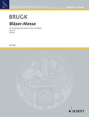 Bläsermesse - Hans M Brugk - Partition - laflutedepan.com