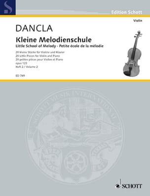Kleine Melodien-Schule op. 123, Heft 2 DANCLA Partition laflutedepan