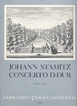 Concerto D-Dur - Flöte Klavier STAMITZ Partition laflutedepan