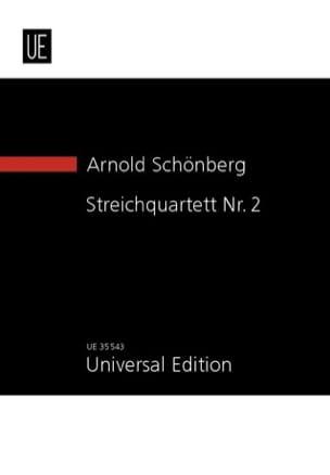 Quatuor à cordes n° 2, opus 10 SCHOENBERG Partition laflutedepan