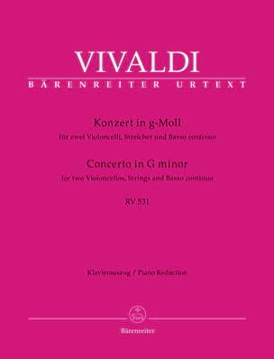 Concerto en sol mineur RV 531 VIVALDI Partition Trios - laflutedepan
