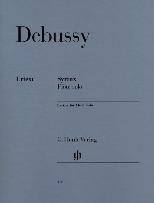 Syrinx - Flute Solo - DEBUSSY - Partition - laflutedepan.com