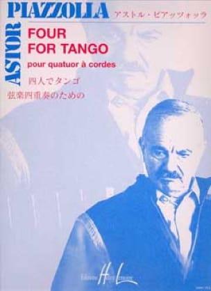 Four for Tango - Quatuor à cordes - Astor Piazzolla - laflutedepan.com