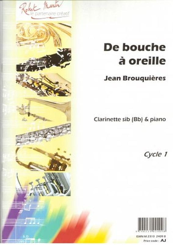 De bouche à oreille - Jean Brouquières - Partition - laflutedepan.com