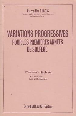 Variations progressives - Volume 1 sans acc. laflutedepan