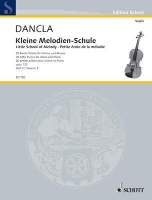 Kleine Melodien-Schule op. 123, Heft 3 DANCLA Partition laflutedepan