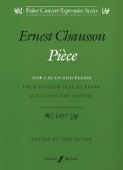 Pièce op. 39 - Violoncelle CHAUSSON Partition laflutedepan