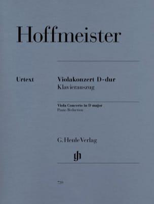 Concerto pour Alto en Ré Majeur HOFFMEISTER Partition laflutedepan
