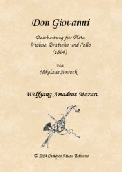 Don Giovanni - Quatuor Flûte, violon, alto et violoncelle - laflutedepan.com