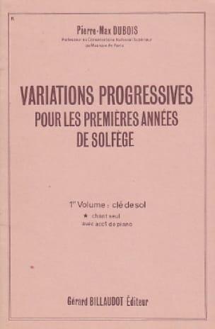 Variations progressives - Volume 1 sans acc. - laflutedepan.com