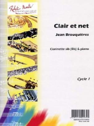 Clair et net - Jean Brouquières - Partition - laflutedepan.com