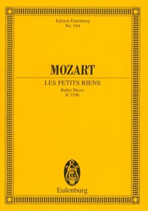 Les Petits Riens, Ballet - Conducteur MOZART Partition laflutedepan