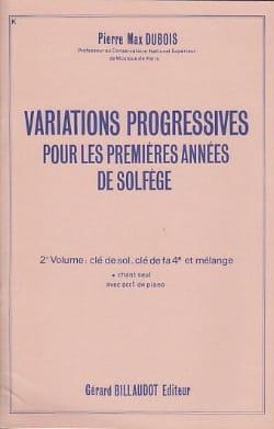 Variations progressives - Volume 2 sans acc. - laflutedepan.com