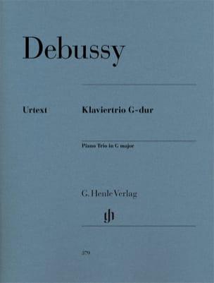 Trio avec piano en Sol majeur DEBUSSY Partition Trios - laflutedepan