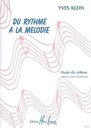 Du rythme à la mélodie - sans piano Yves Klein Partition laflutedepan
