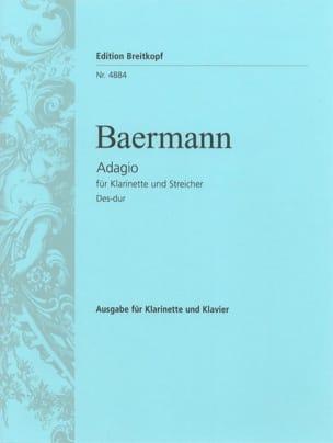 Adagio in Des-Dur - Klarinette Klavier laflutedepan