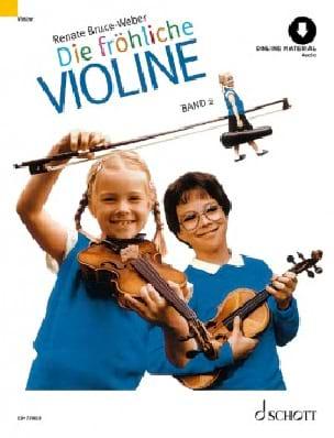 Die fröhliche Violine - Bd. 2 Renate Bruce-Weber laflutedepan