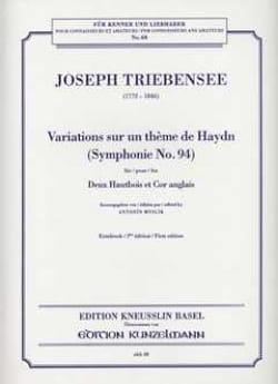 Variations sur un thème de Haydn -Parties laflutedepan