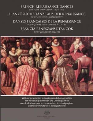 Danses françaises de la Renaissance pour quatre instruments à cordes - laflutedepan.com