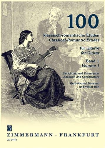 100 Klassisch-romantische Etüden - Volume 1 - laflutedepan.com