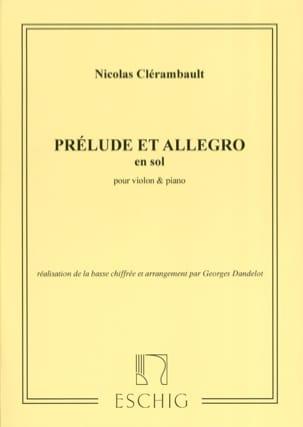 Prélude et Allegro en Sol Majeur laflutedepan