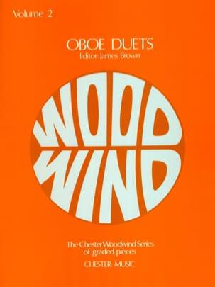 Oboe Duets - Volume 2 James Brown Partition Hautbois - laflutedepan