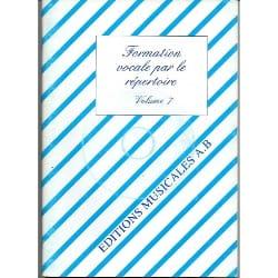 Formation Vocale par le Répertoire Vol 7 Ab Partition laflutedepan