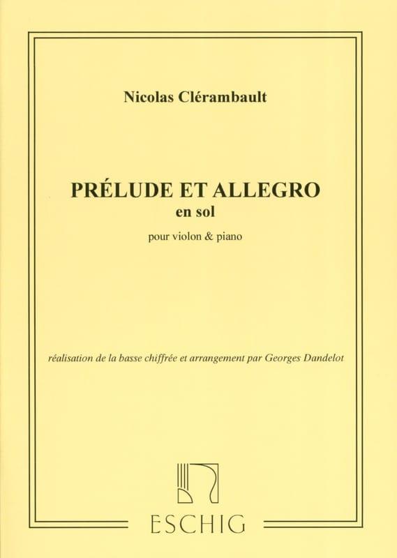 Prélude et Allegro en Sol Majeur - laflutedepan.com