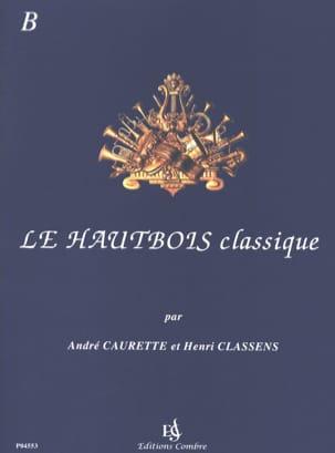 Le Hautbois Classique - Volume B laflutedepan