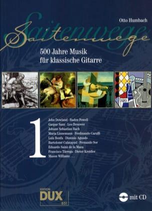 Saitenwege - 500 Jahre Musik Für Klassische Gitarre Vol 1 laflutedepan