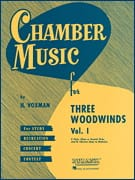 Chamber Music for 3 Woodwinds Vol 1 Partition Trios - laflutedepan
