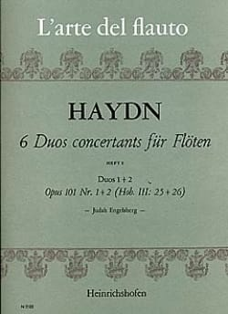 6 Duos concertants op. 101 Heft 1 - 2 Flöten HAYDN laflutedepan