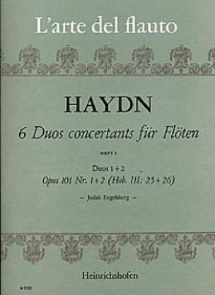 6 Duos concertants op. 101 Heft 1 - 2 Flöten - laflutedepan.com