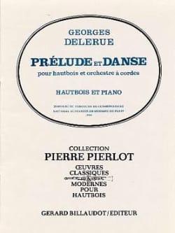 Prelude et Danse - Hautbois/Piano Georges Delerue laflutedepan