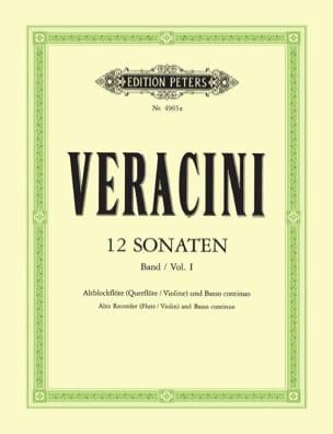12 Sonaten, Bd. 1 - Blockflöte u. Bc laflutedepan