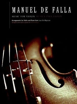 Music for violin from El Amor Brujo DE FALLA Partition laflutedepan